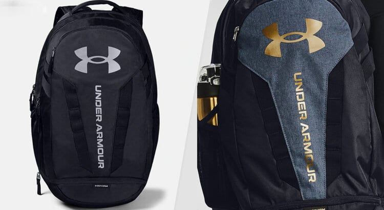 under armour backpack with bottle pocket