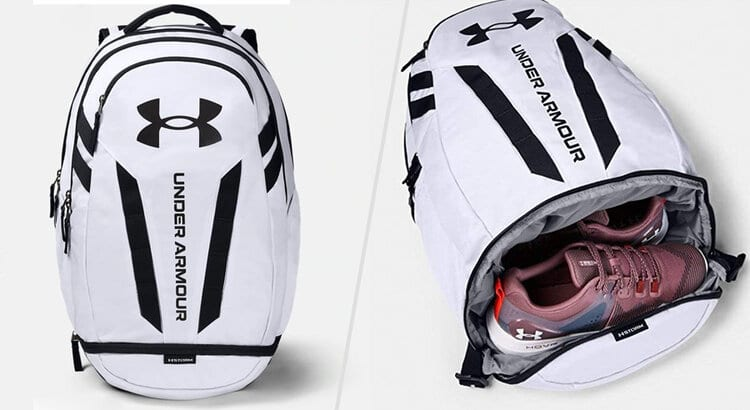 under armour bag with shoe compartment
