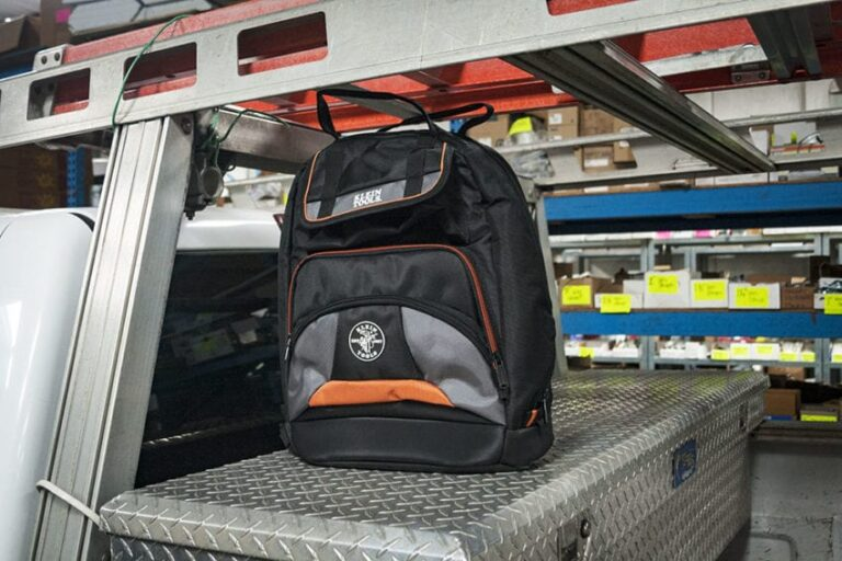 Tool Backpack With Laptop Compartment