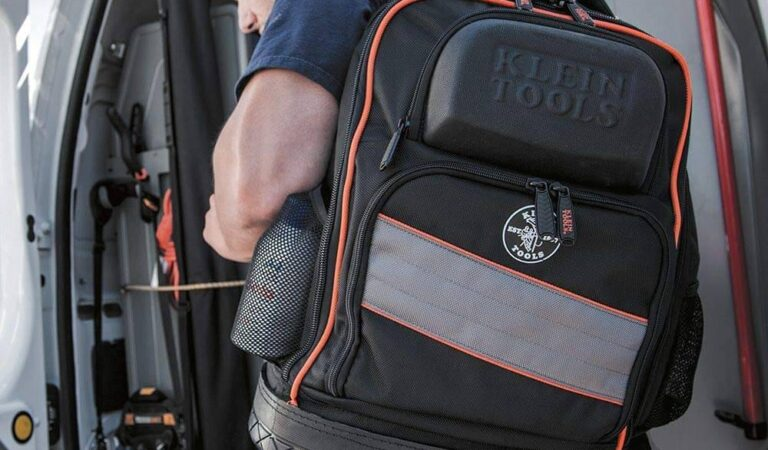 Best Electrician Tool Backpack with Laptop Compartment