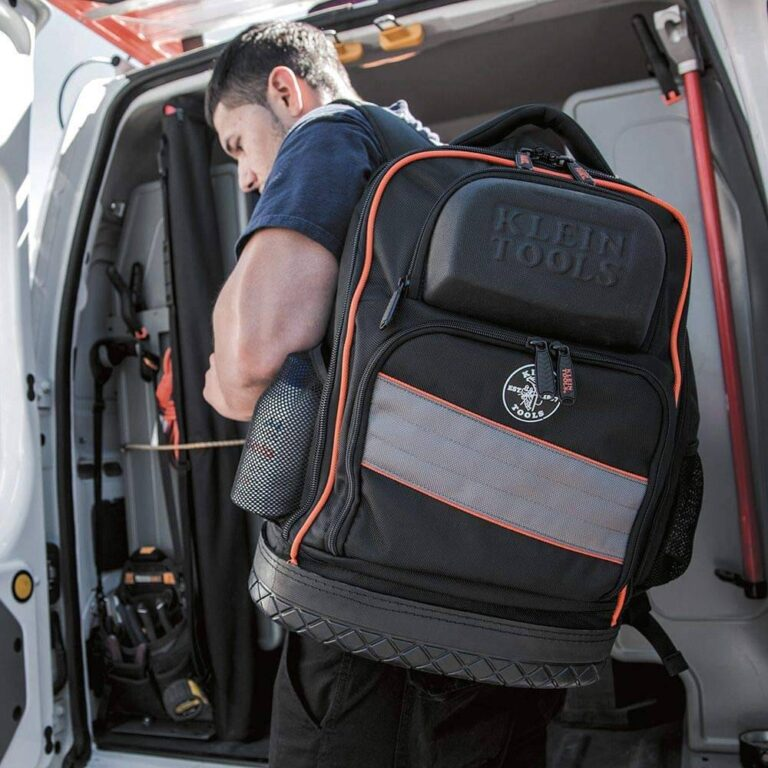 Electrician Tool Backpack with Laptop Compartment