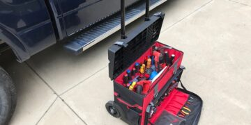 Electrician Rolling Tool Bag