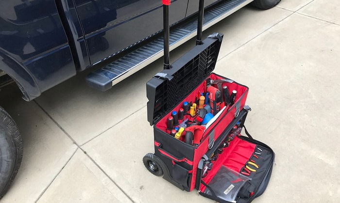 Best Electrician Rolling Tool Bag in 2021